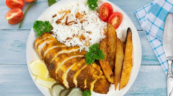 Oven Roasted Shawarma Chicken